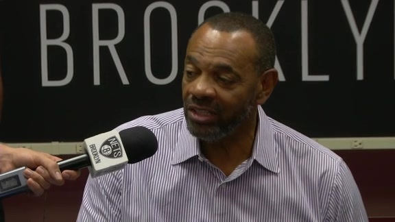 Video: Hollins Sets Nets Expectations