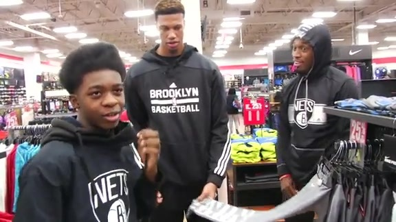 Kids Get Suprise Shopping Spree with McCullough