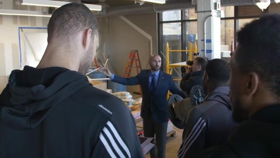 Nets Get Preview of HSS Training Center