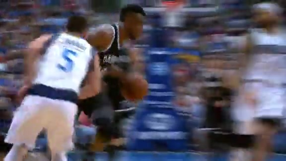 Thad Steal and Layup
