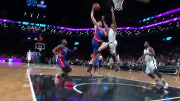 Thaddeus Young Big Time Block