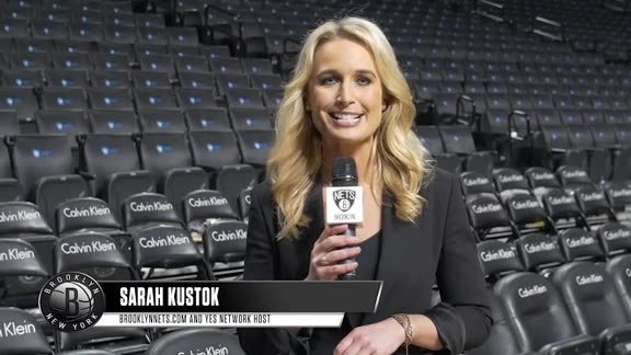 Watch: Nets Preview with Sarah Kustok