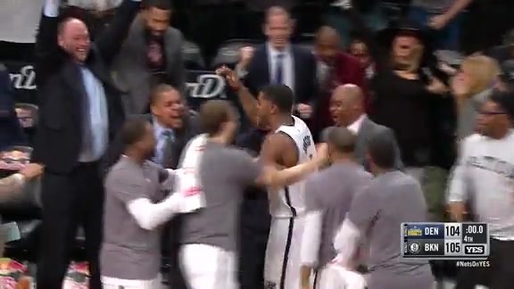 Watch: Johnson Beats the Buzzer