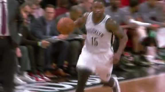 Nets Ball Movement to Ellington