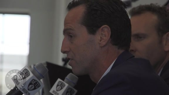 Nets Introduce new Head Coach Kenny Atkinson