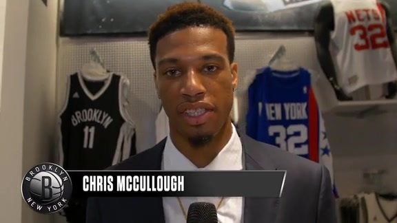McCullough: Back at the Draft