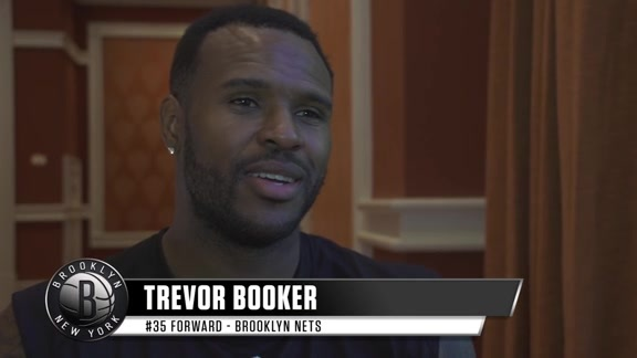 Trevor Booker Ready to Work