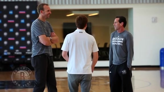 Coach Atkinson Believes in Brooklyn