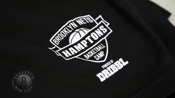 Coach Atkinson and Rondae at Nets Camp in the Hamptons