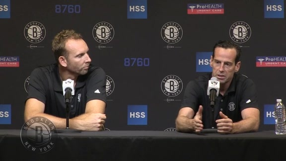 Nets Preseason Press Conference