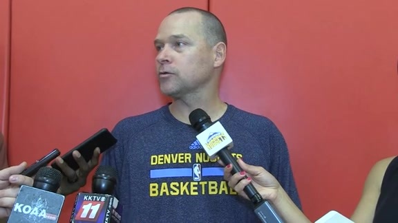 Training Camp Day 3: Michael Malone