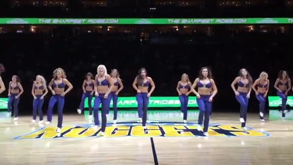 Nuggets Dancers Intro