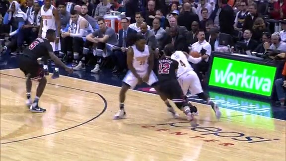Big Plays at Pepsi Center - Nuggets vs. Bulls