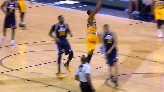 Big Plays At Pepsi Center - Nuggets vs. Jazz
