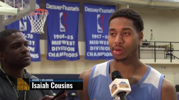 Prospect Interview: Isaiah Cousins