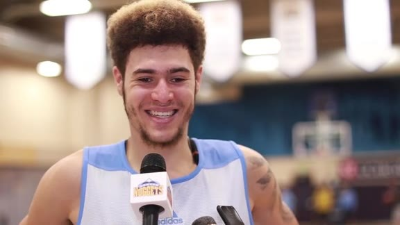 Prospect Interview: Isaia Cordinier