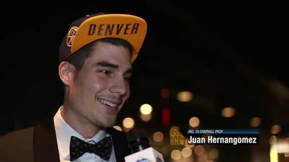 Draft Night: Juan Hernangomez