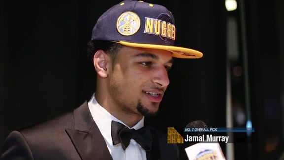 Draft Night: Jamal Murray