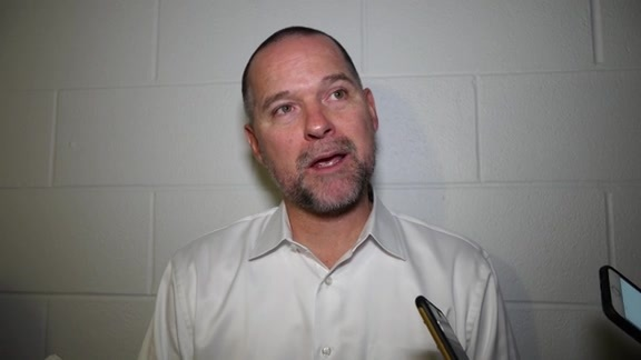 Coach Malone After Preseason Loss in San Antonio