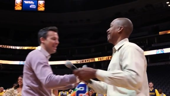 Nuggets Surprise Fat Lever with Jersey Retirement Announcement