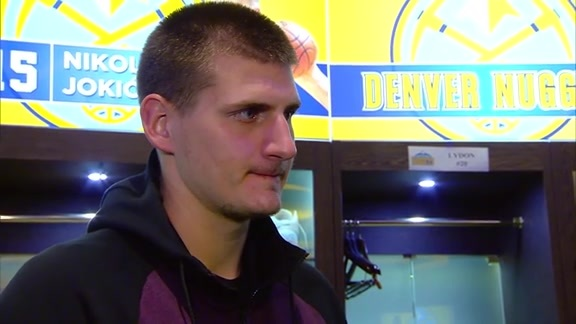 Nikola Jokić on Physical Play and End of Preseason