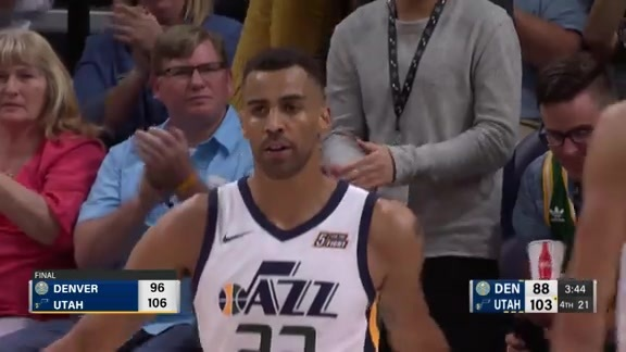 Toyota Game Recap: Nuggets at Jazz