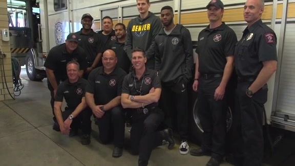 Nikola and Emmanuel Get to Know Denver's First Responders
