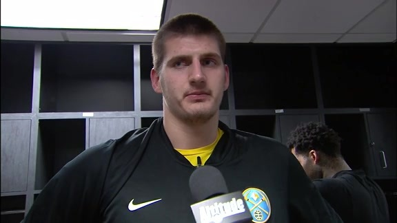 Nikola Jokić Adresses the Media