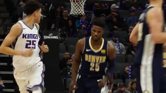 Highlights: Nuggets at Kings