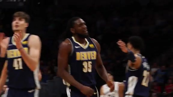Highlight from the Nuggets Win Over the Grizzlies