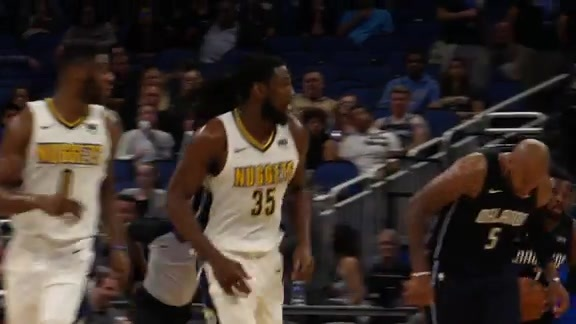 Nuggets at Magic Highlights