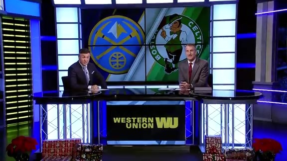 Western Union Game Preview: Nuggets at Celtics