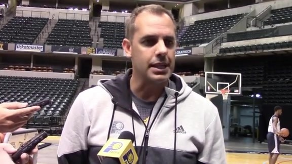 Coach Vogel on Paul George, Myles Turner