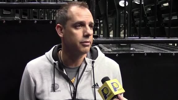 Shootaround: Vogel on Glenn Robinson III, Preseason Rotation
