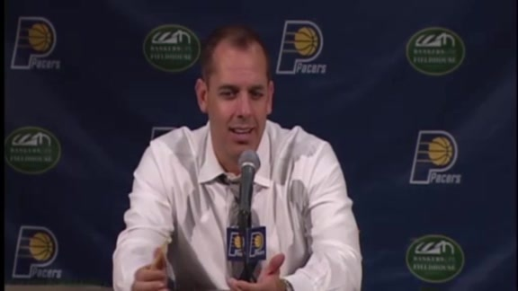 Postgame: Frank Vogel Press Conference 151008