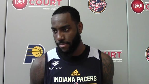 Rakeem Christmas on His Rookie Experience