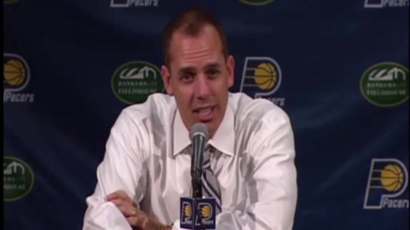 Postgame: Vogel on Pacers'