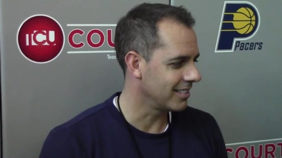 Practice: Coach Vogel on Game Against Wizards, Team's Defensive Versatility