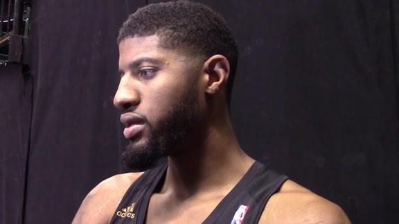 Practice: Paul George on the Upcoming Road Trip, Lakers