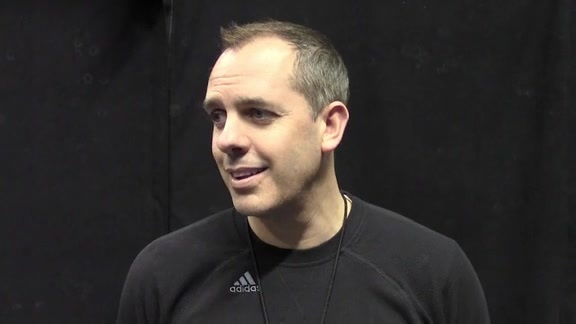 Practice: Coach Vogel Talks About Team Growth