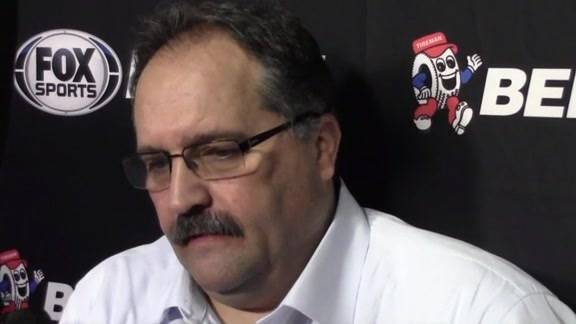 Postgame: Pistons Locker Room 160206