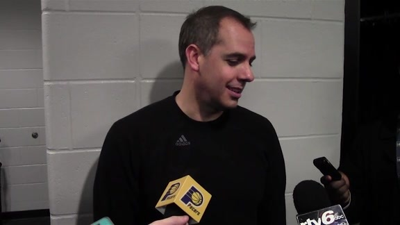 Shootaround: Vogel on Hibbert's Return, Kobe's Last Visit