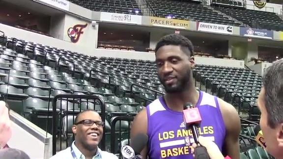 Hibbert on Return to Indy: