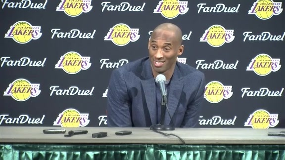 Kobe Bryant's Pregame Media Availability