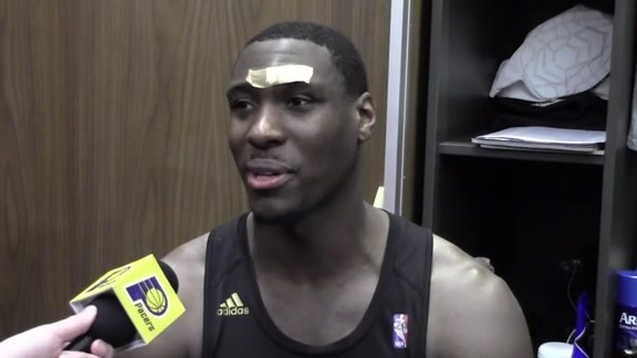 Postgame: Pacers Locker Room 160208