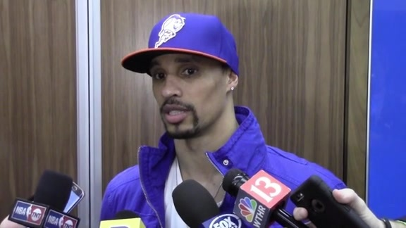 Postgame: George Hill on Trust Among Teammates, Ball Movement (Game 4)