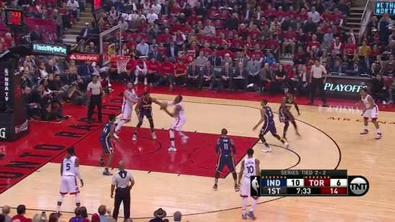 Turner's Rejection Leads to PG's Three