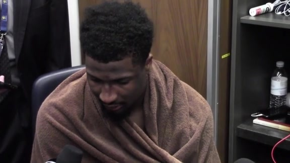 Postgame: Pacers Locker Room (Game 6)