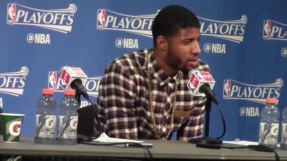 Postgame: Paul George Press Conference (Game 6)