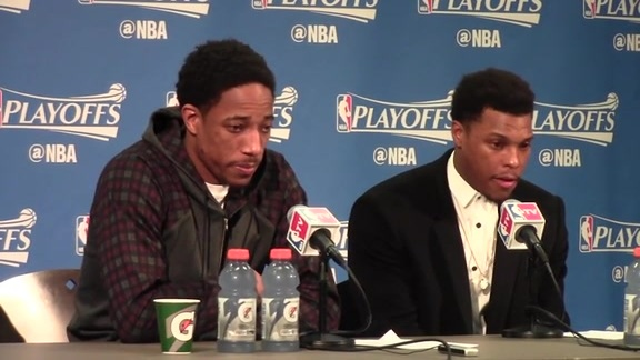 Postgame: Toronto Raptors Press Conference (Game 6)